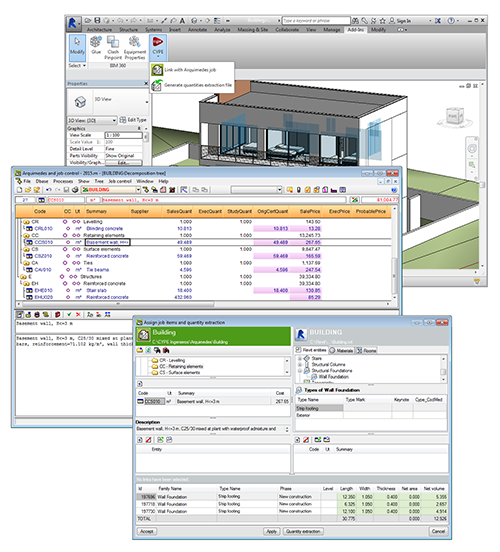 Arquimedes bill of quantities of revit models direct connection between revit and arquimedes to obtain quantities from a bim model thecheapjerseys Gallery